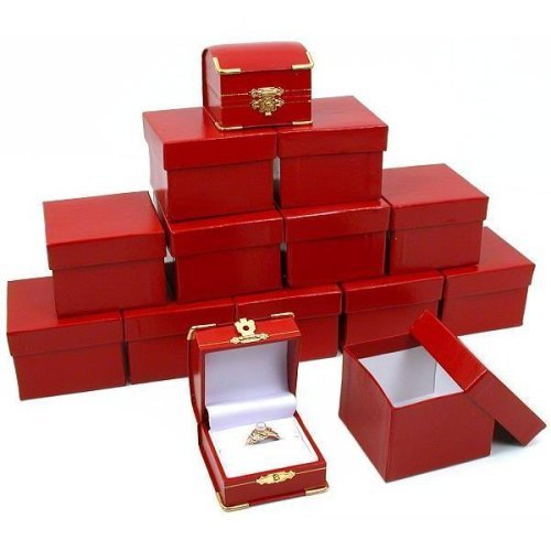 Red Ring Jewelry Boxes Zooly Box